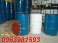 Thùng phuy sắt, thùng phuy nắp kín, vỏ thùng phuy giá rẻ, thùng phuy 220 lít