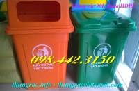 Thùng rác 90 lít nhựa HDPE giá siêu rẻ call 0984423150 – Huyền