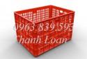 Cc rổ nhựa đan - hộp nhựa đặc công nghiệp giá sỉ - LH 0963.839.593