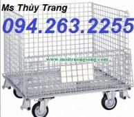 Cung cấp lồng chứa hàng, lồng trữ hàng, lồng thép mạ giá rẻ