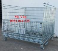 Lồng trữ hàng, Lồng sắt trữ hàng, Lồng thép trữ hàng, Pallet lưới