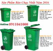 Địa chỉ thanh lý thùng rác nhập khẩu sỉ lẻ thùng 120l, 240l, 660l,....
