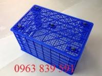 Sóng cá công nghiệp- rổ nhựa đan 0963 83 9591
