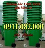 Nơi bán thùng rác giá rẻ tại quận bình tân- sỉ lẻ các loại thùng rác môi trường-