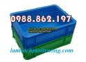 sóng nhựa bít B12, sóng nhựa công nghiệp, thùng nhựa cơ khi, thùng nhựa đặc giá