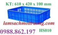Thùng nhựa rỗng hs010,sóng nhựa 2t HS010,sóng nhựa HS010,sóng nhựa rỗng HS01