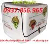Thùng đựng thực phẩm, thùng cách nhiệt, thùng chở hàng sau xe máy giá rẻ