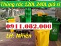 Giá sỉ thùng rác 120 lít 240 lít giá rẻ- thùng rác môi trường, thùng rác văn phò