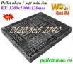 Bán pallet nhựa, pallet kê hàng màu đen, pallet nhựa xuất khẩu giá siêu rẻ