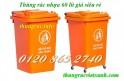 Bán thùng rác 60L, thùng rác nhựa 60L, thùng đựng rác 60L giá siêu rẻ