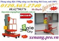 Giá thang nâng điện 150kg nâng cao 8m rẻ nhất tại Tp.HCM, hàng có sẵn