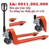 Cung cấp xe nâng tay thấp 3 tấn giá rẻ tại hậu giang-hàng nhập khẩu đài loan - l