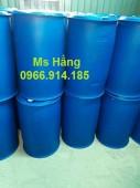 Thùng nhựa 220 lít đựng dầu dừa,thùng nhựa 220 lít nắp nhỏ