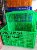 Bán rổ nhựa công nghiệp giá rẻ - Call: 0963.839.593 Thanh Loan