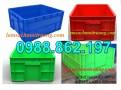 SÓNG NHỰA BÍT KPT02, thùng nhựa đặc KTP 02, thùng nhựa đặc, sóng nhựa bít