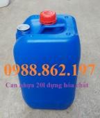 Can 20l, Can nhựa đựng hóa chất, can nhựa đựng xăng dầu, Can nhựa 20 lít