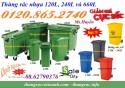 Bán thùng rác 120L, thùng rác 240L, thùng rác 660L, thùng rác nhựa HDPE giảm giá