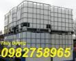 Bán tank nhựa 1000 lít, tank IBC, bồn nhựa 1000 lít, thùng nhựa 1000 lít