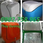 Thùng đựng thực phẩm, thùng nhựa cao cấp, thùng chở hàng, thùng giao hàng