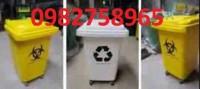 Thùng rác y tế, thùng rác 240l, thùng rác nhựa, thùng rác y tế đạp chân,