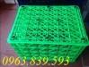 Sóng nhựa 8 bánh xe/ sóng nhựa 26 bánh xe/ rổ nhựa công nghiệp