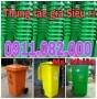 Thùng rác 120 lít, 240 lít giá rẻ- 0911082000