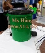Thùng rác y tế 5 lít,thùng rác đạp chân y tế 8 lít