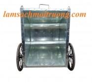 Xe thu gom rác thải, xe gom rác bằng tôn, xe gom rác 500l giá rẻ