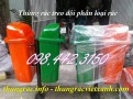 Thùng rác treo đôi nhựa composite giá siêu rẻ call 0984423150 Huyền