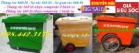 Thùng rác 660 lít nhựa composite khuyến mại giá siêu rẻ call 0984423150 – Huyền