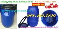 Thùng phuy nhựa 30 lít đai nhựa giá siêu rẻ - siêu cạnh tranh call 0984423150