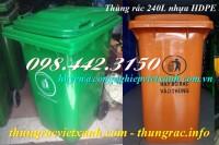 Giảm giá sốc thùng rác nhựa 240 lít call 0984423150 – Huyền