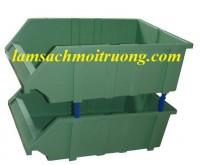 Bán khay nhựa xếp tầng, khay đựng linh kiện, khay nhựa công nghiệp giá rẻ