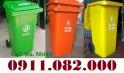 Thùng rác y tế, thùng rác môi trường, thùng rác 120L 240L giá rẻ- lh 0911082000