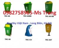 thùng rác nhựa, thùng đựng rác, Thùng rác giá rẻ, thùng rác giá rẻ 90 lít