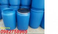 Cung cấp thùng phuy 220l thùng đựng hóa chất thùng phuy làm bè giá rẻ