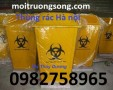 Thùng rác trong các bệnh viện, thùng rác giá rẻ, thùng rác 240l dùng trong bệnh