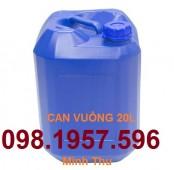 Can nhựa đựng hóa chất, can nhựa 30 lít, can 20 lít, can giá rẻ