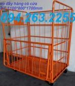 Chuyên sản xuất xe đẩy hàng, lồng thép trữ hàng, lồng lưới thép giá rẻ