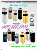 Giá cực sốc thùng rác inox, thùng rác gỗ call 01208652740 – Huyền