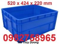 Cung cấp thùng nhựa đặc, hộp đựng đồ cơ khí, sóng nhựa công nghiệp