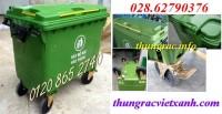 Giảm giá cực sốc thùng rác 660 lít nhựa HDPE call 01208652740 – Huyền