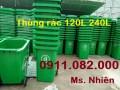Bán thùng rác 240 lít số lượng lớn giá rẻ tại tây ninh- lh 0911.082.000