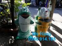 Thùng rác con thú,thùng rác trường học,thùng rác sân vườn