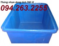 Cung cấp bồn chứa, bồn nhựa dung tích lớn, thùng chứa cỡ lớn giá rẻ