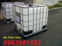 Cung cấp thùng chứa, can đựng hóa chất, can nhựa vuông 20l giá rẻ