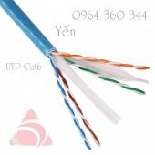 Cáp báo cháy, cáp mạng UTP/FTP Cat6 Cta5e 305m/cuộn Altek Kabel