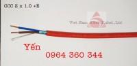 Altek Kabel Cáp chống cháy chống nhiễu 1Pair 1.0mm2, 1.5mm2, 2.5mm2