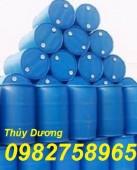 Bán thùng phuy nhựa 220l, thùng phuy nắp hở, vỏ thùng phuy giá rẻ
