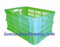 Sóng nhựa HS012, sóng nhựa hở, rổ đựng đồ may mặc giá rẻ